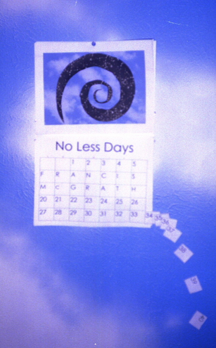 Original concept for No Less Days' cover
